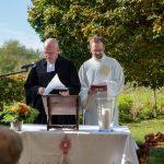 Pfarrer Horst Küllmer und Diakon Sebastian Zinken